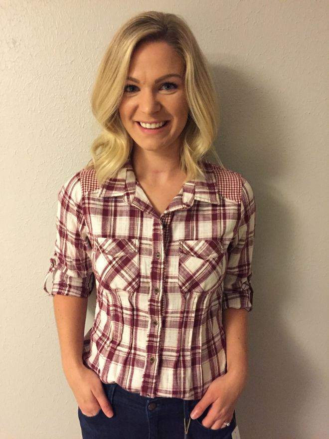 StitchFix plaid shirt