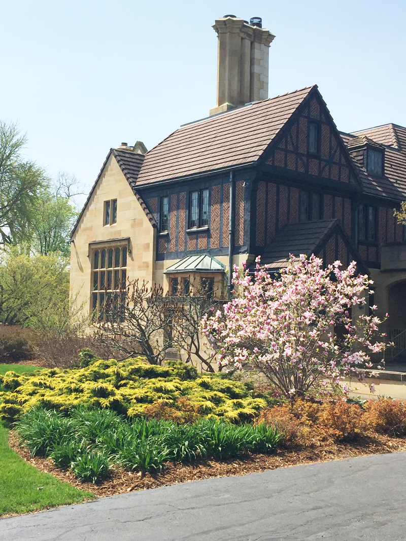 Paine Art Center & Gardens, Oshkosh, Wis., spring 2016