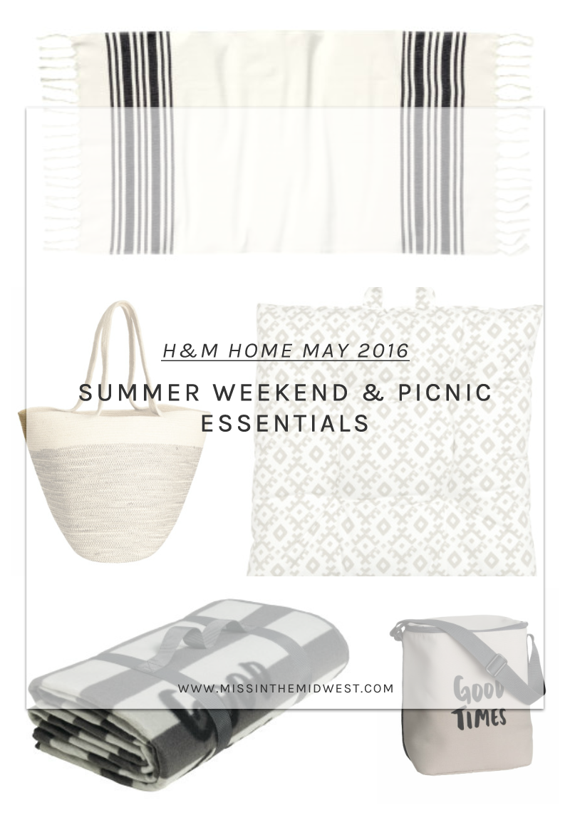 Weekend Picnic Summer Essentials H&M Home