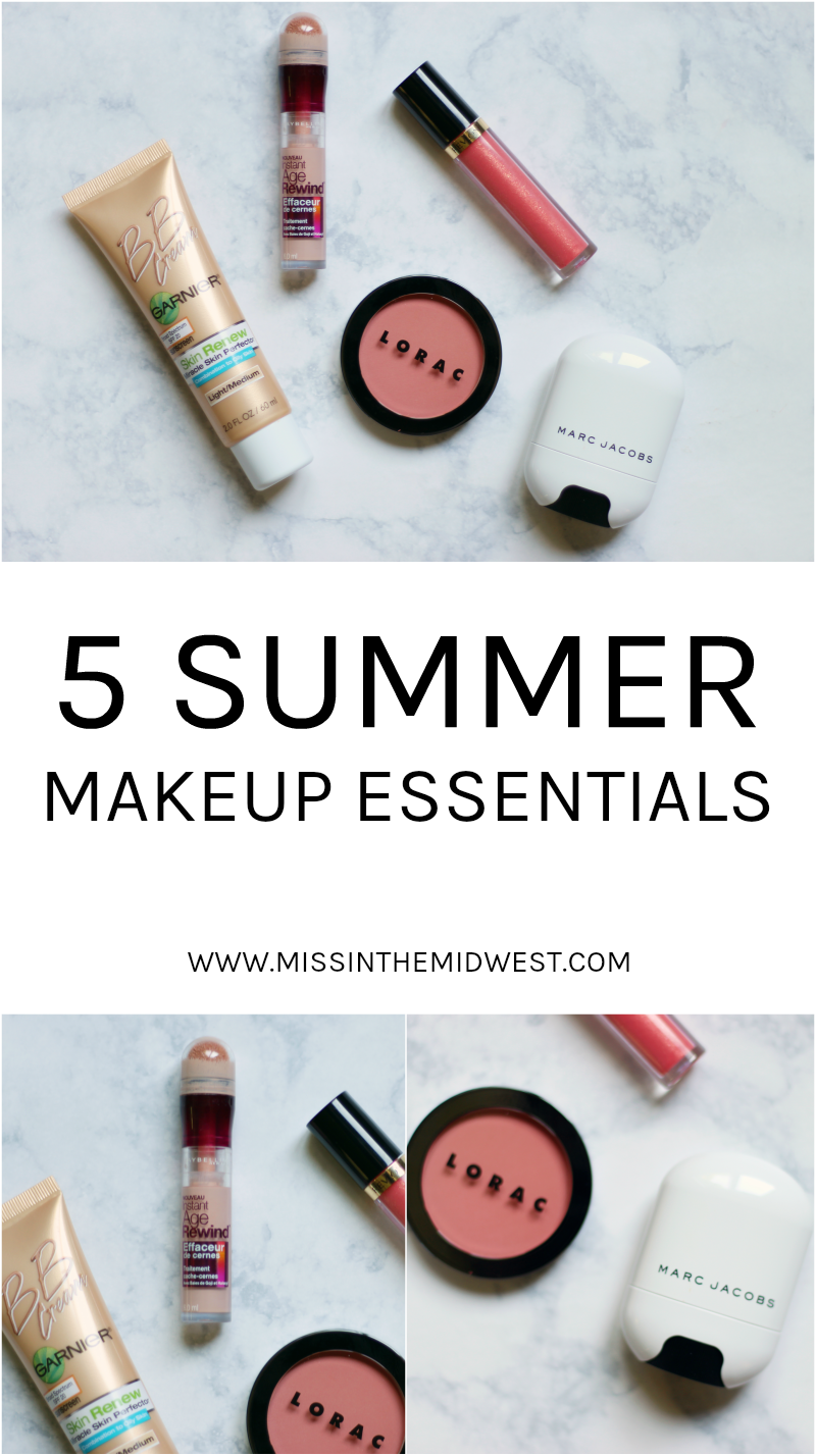 Five Summer Makeup Essentials