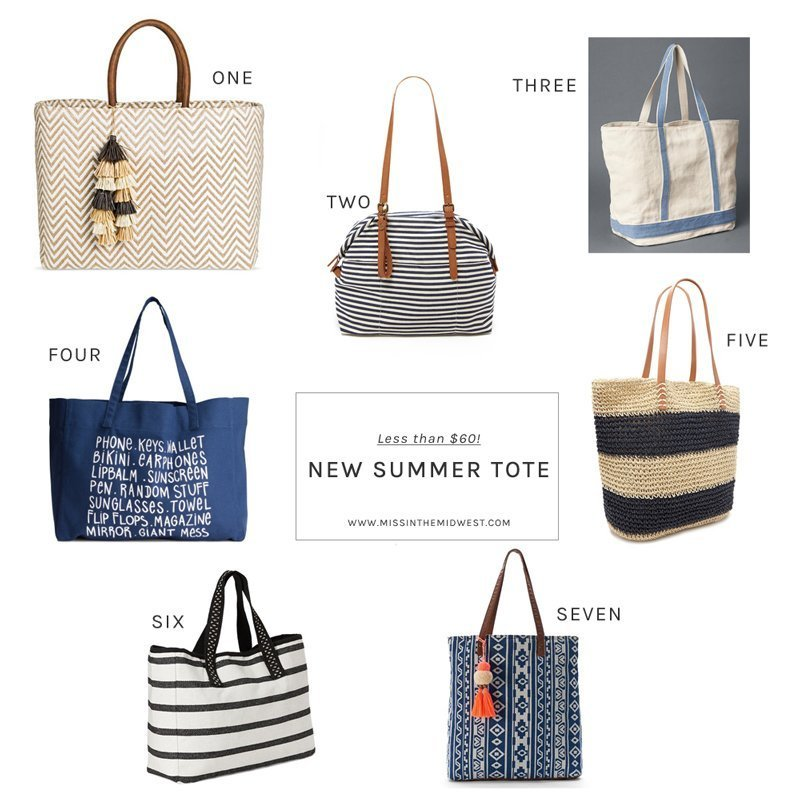 7 Summer Totes for Less Than $60