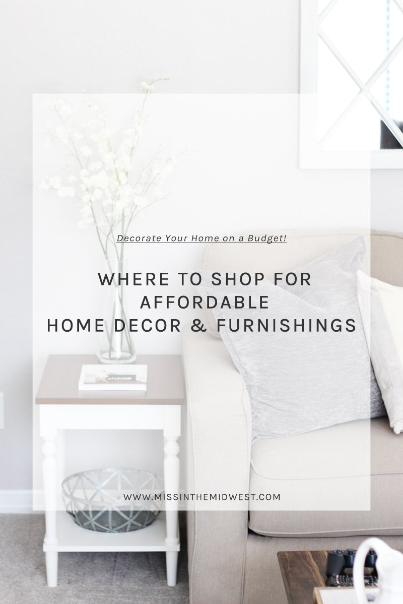 Where i shop for affordable home decor what karly said for Affordable home accents