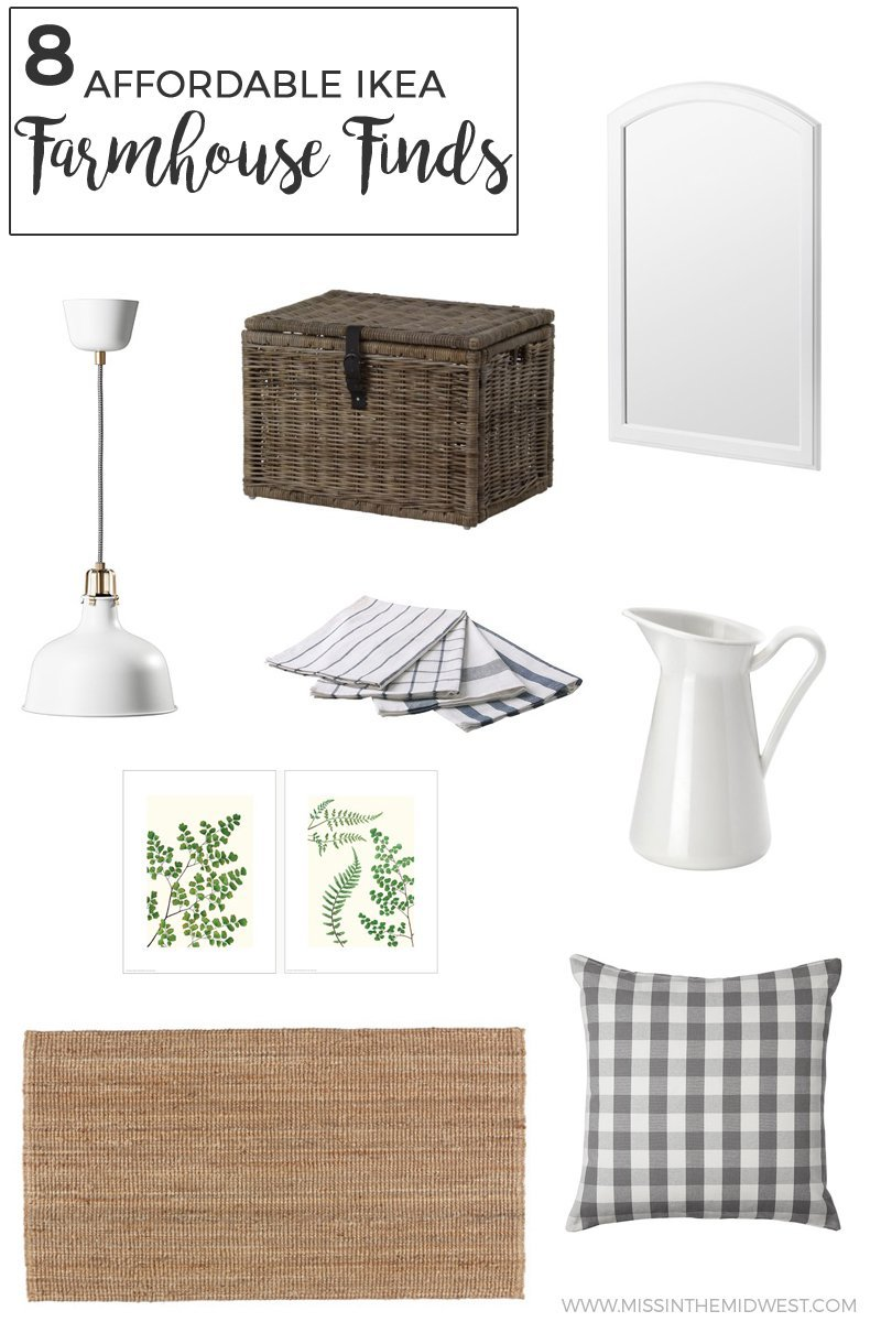 8 Affordable IKEA Farmhouse Finds