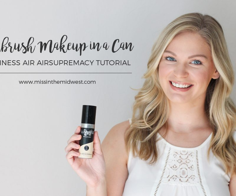 Airbrush Makeup in a Can | Luminess Air AirSupremacy Tutorial