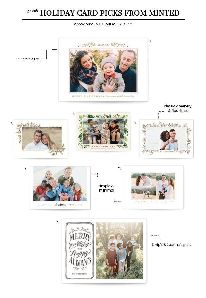 My Favorite Holiday Card Picks from Minted