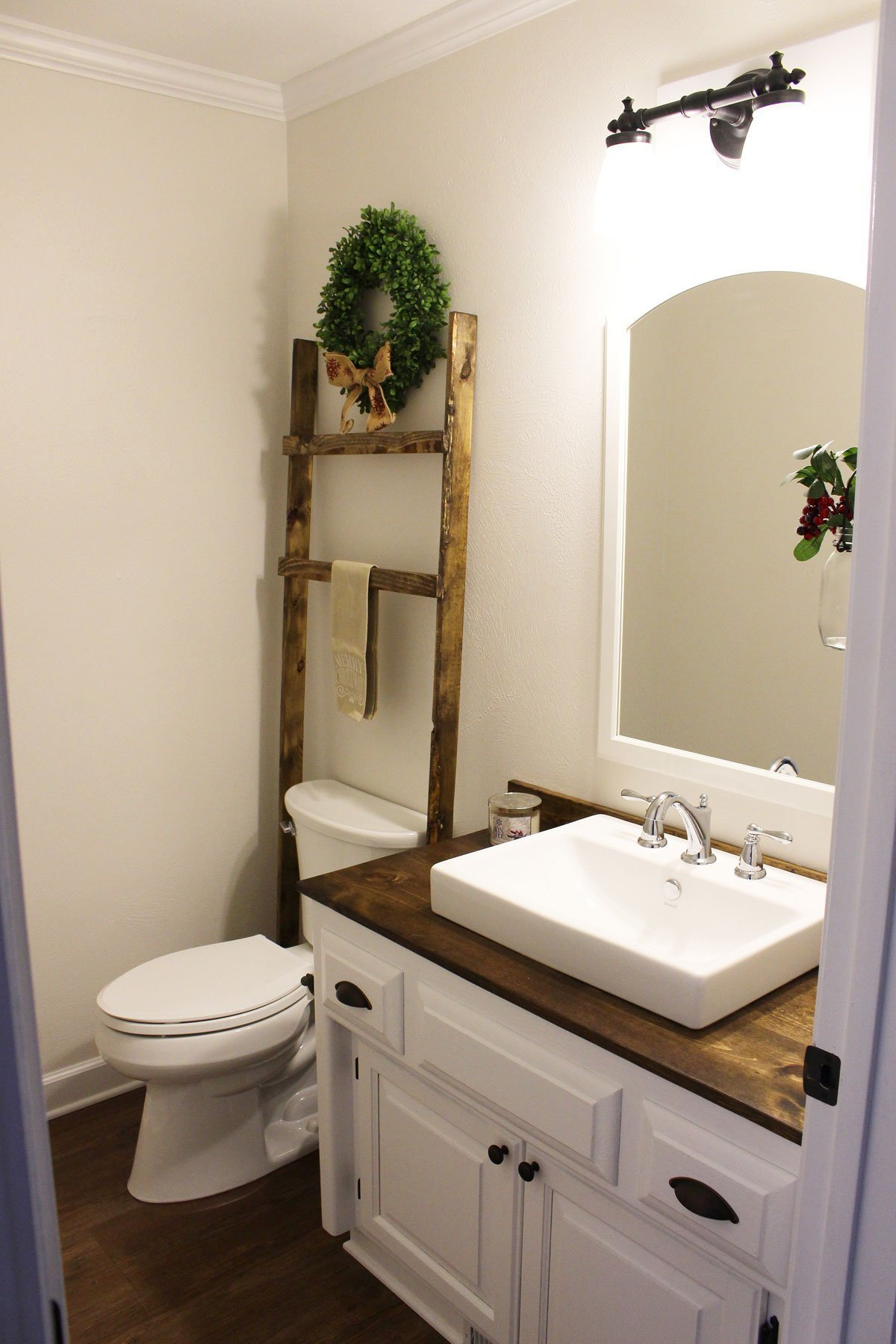 Modern Farmhouse Half Bathroom