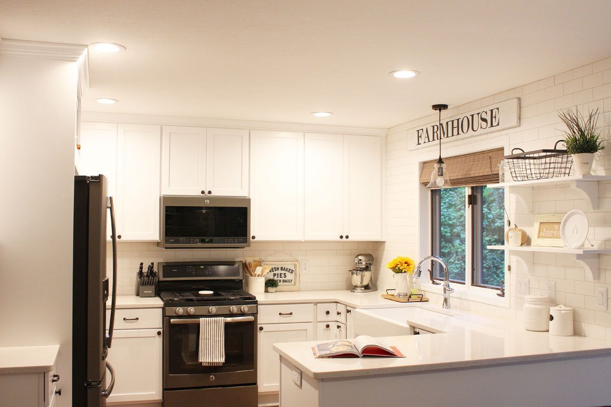 Modern Farmhouse Kitchen Reveal