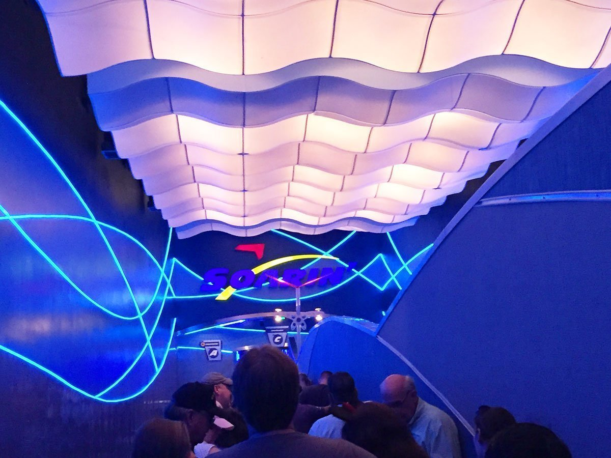Soarin' entrance at Disney World EPCOT