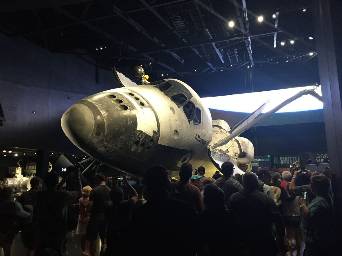 Atlantis space shuttle at Kennedy Space Center