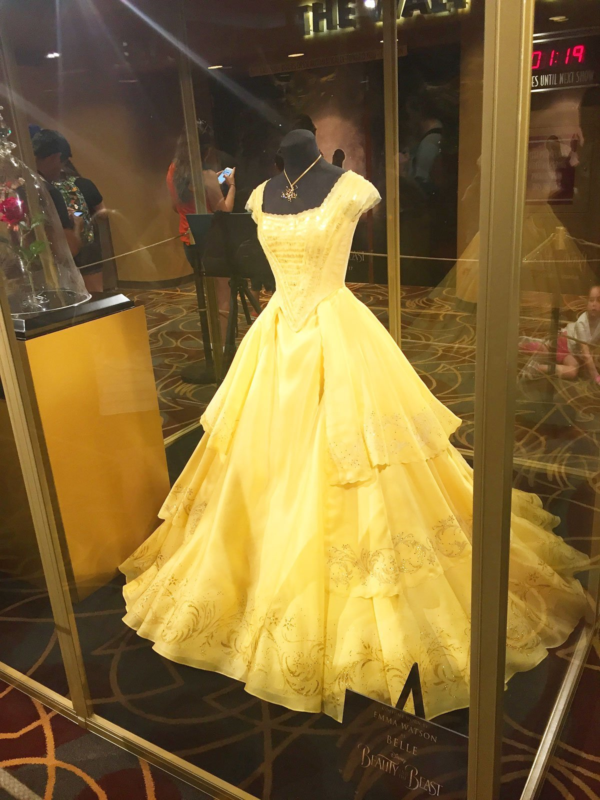 Emma Watson's Dress as Belle from Beauty and the Beast Live Action Movie