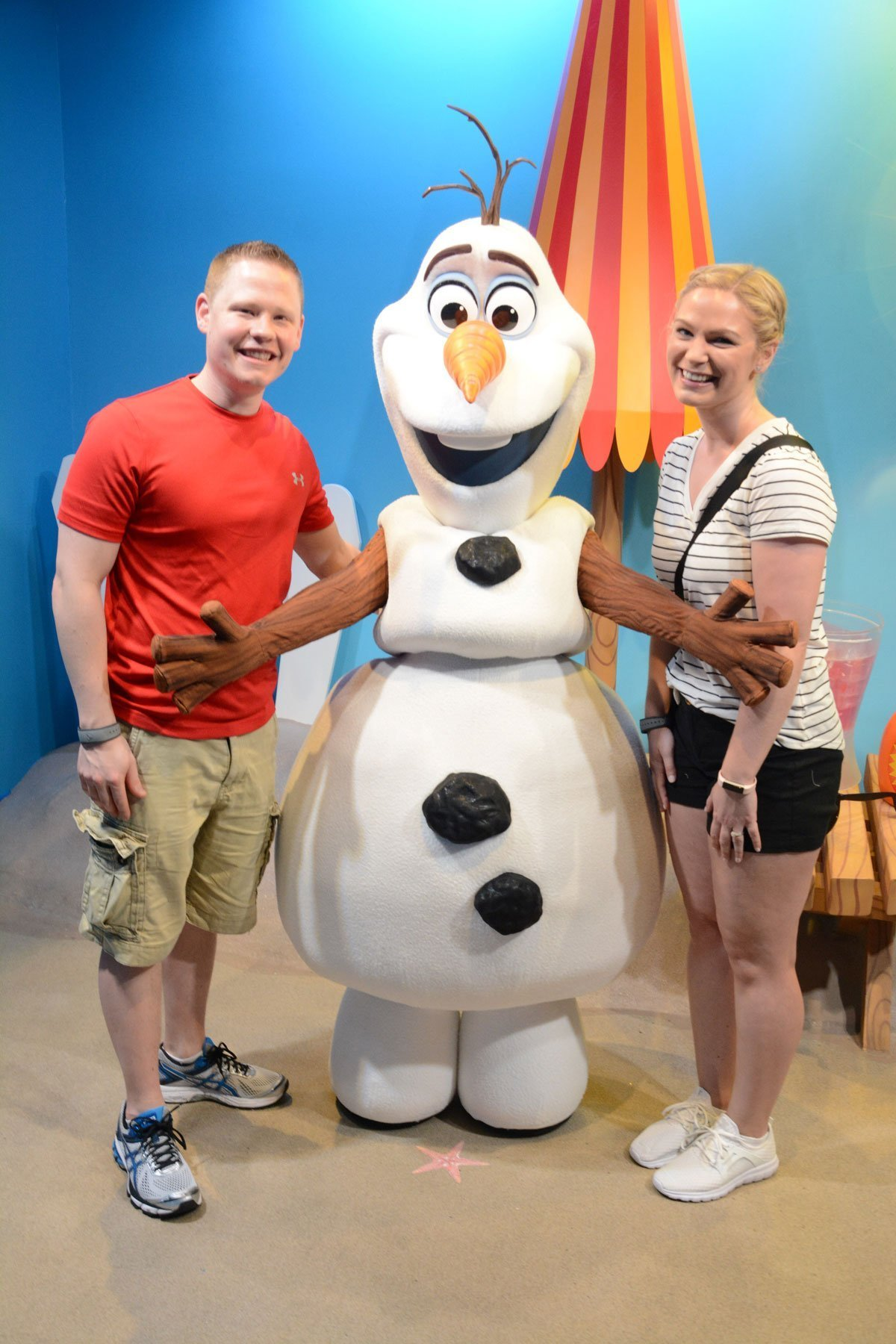 Meet-and-Greet with Olaf at Disney Hollywood Studios