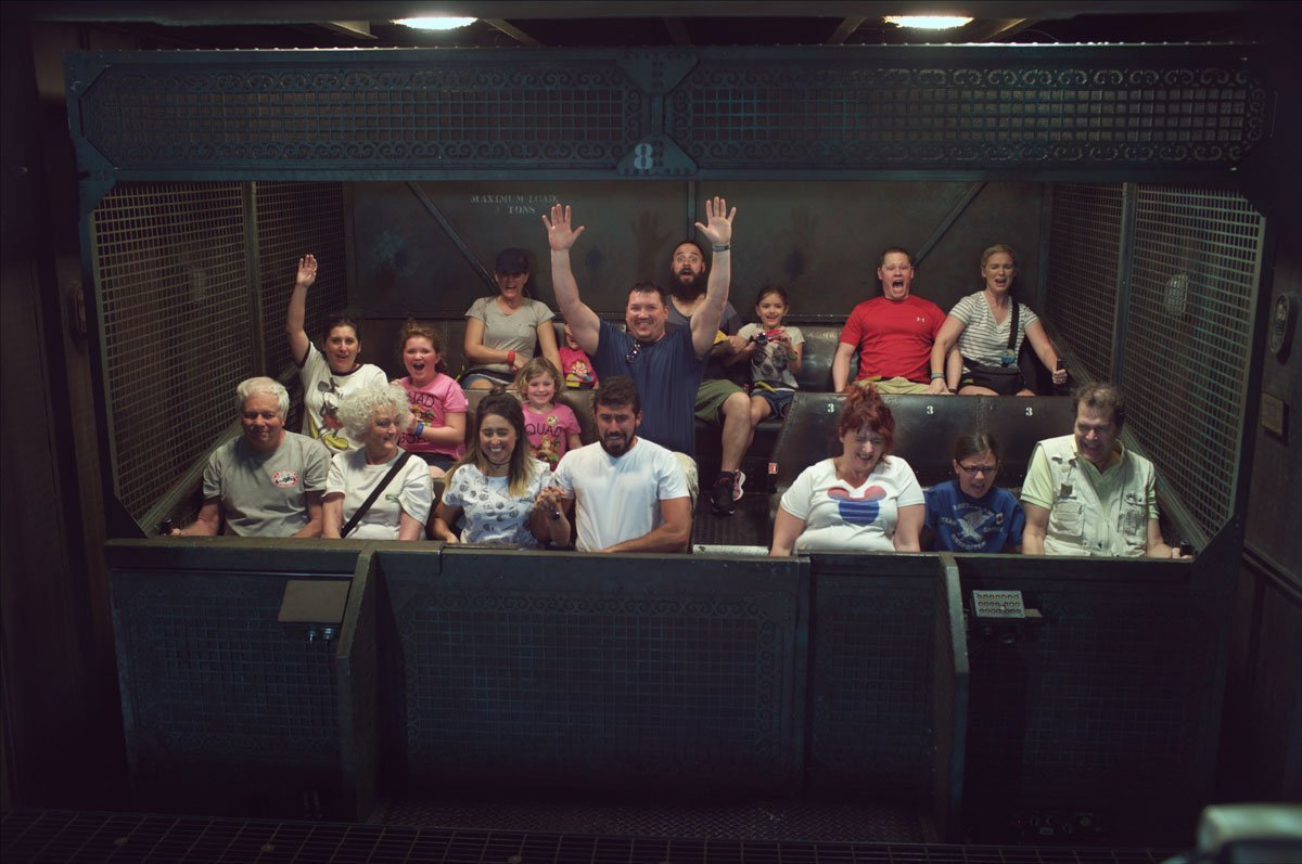 Disney Hollywood Studios Tower of Terror ride