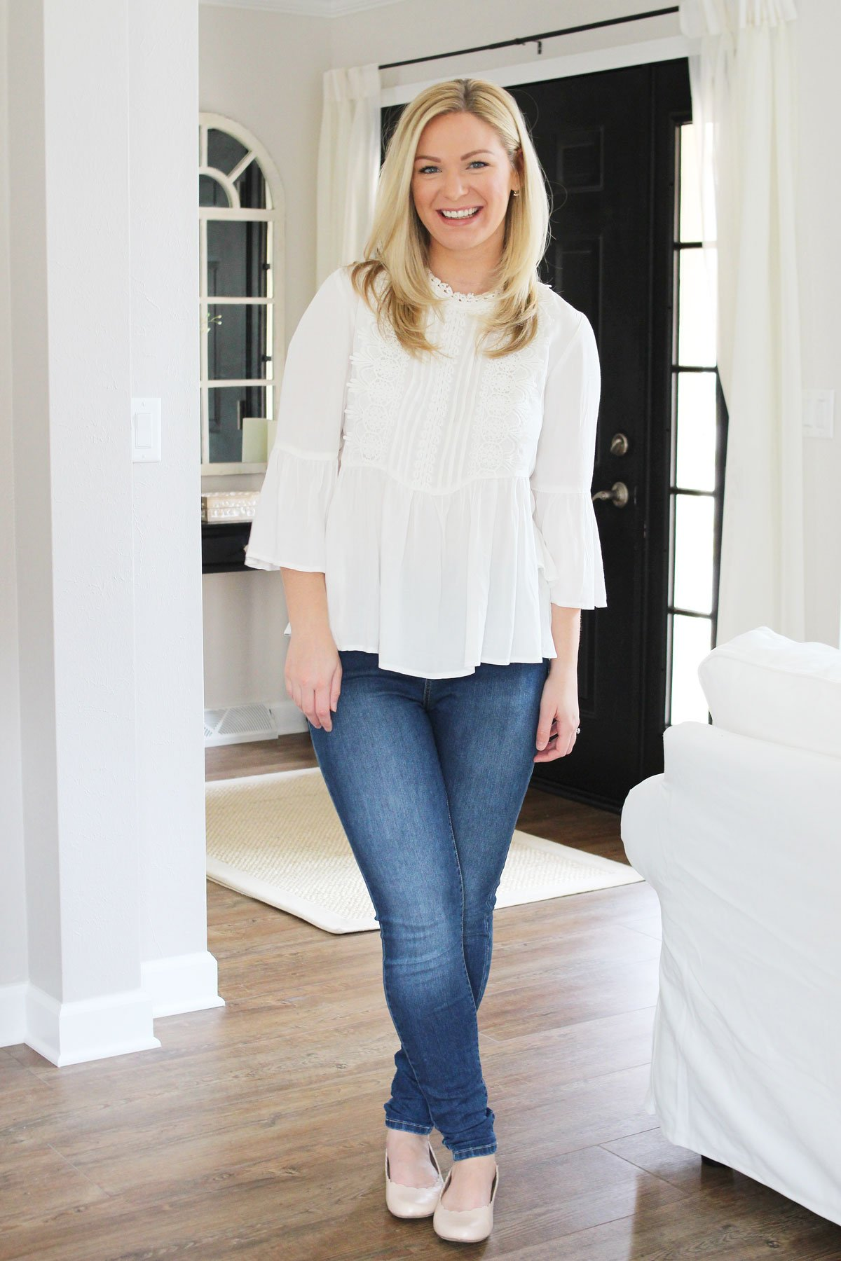 Spring Wardrobe Staple | White Lace Blouses
