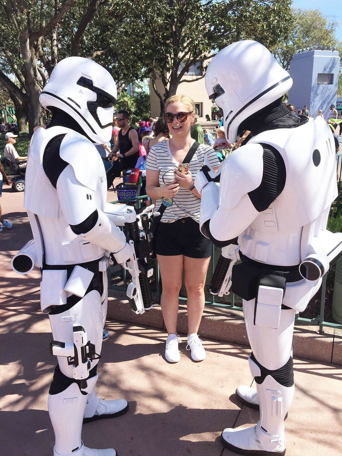 Storm Troopers Attack at Hollywood Studios