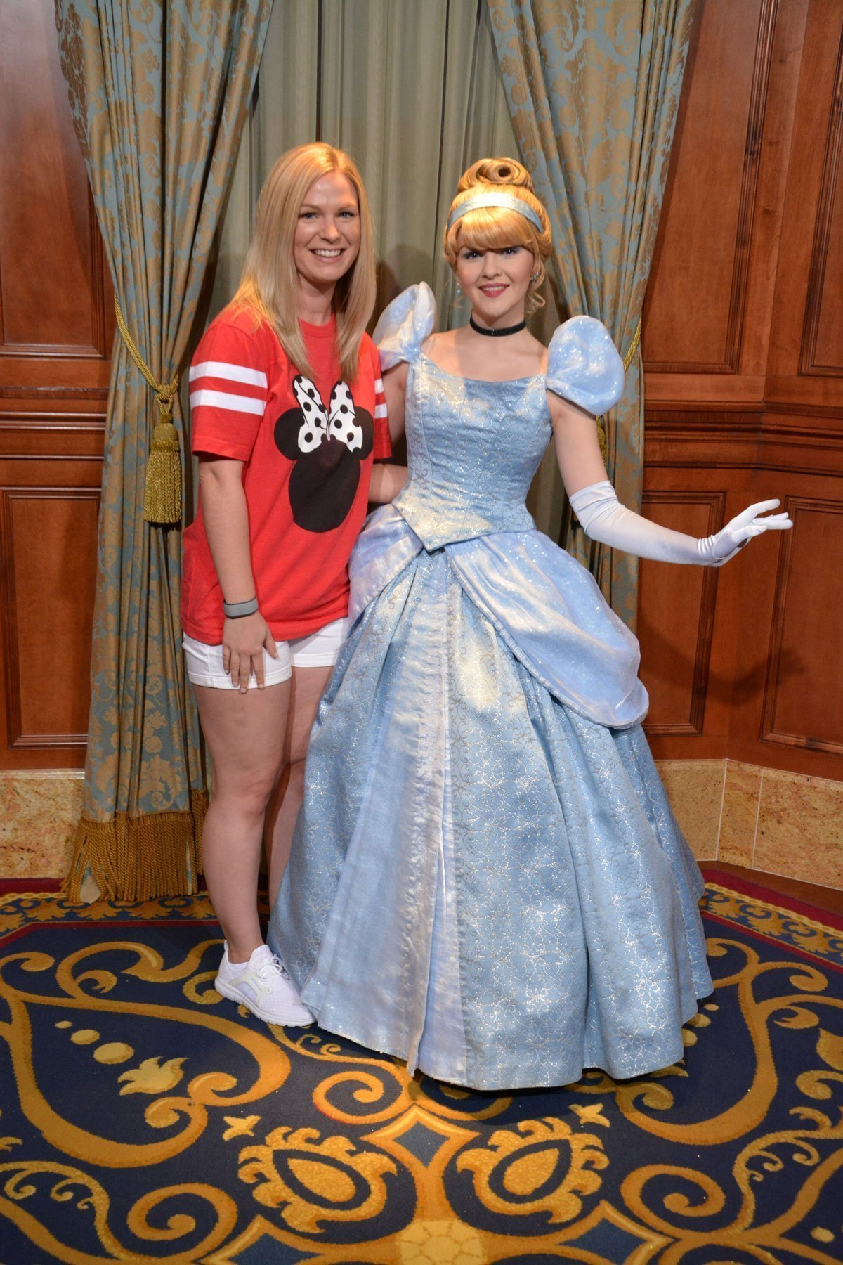 Cinderella meet 'n' greet at Magic Kingdom