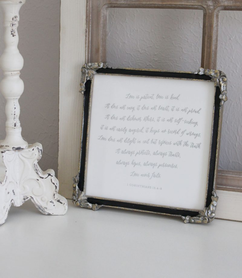 Why I Fill Our Home With Words - Minted foil-pressed wedding vows wall art