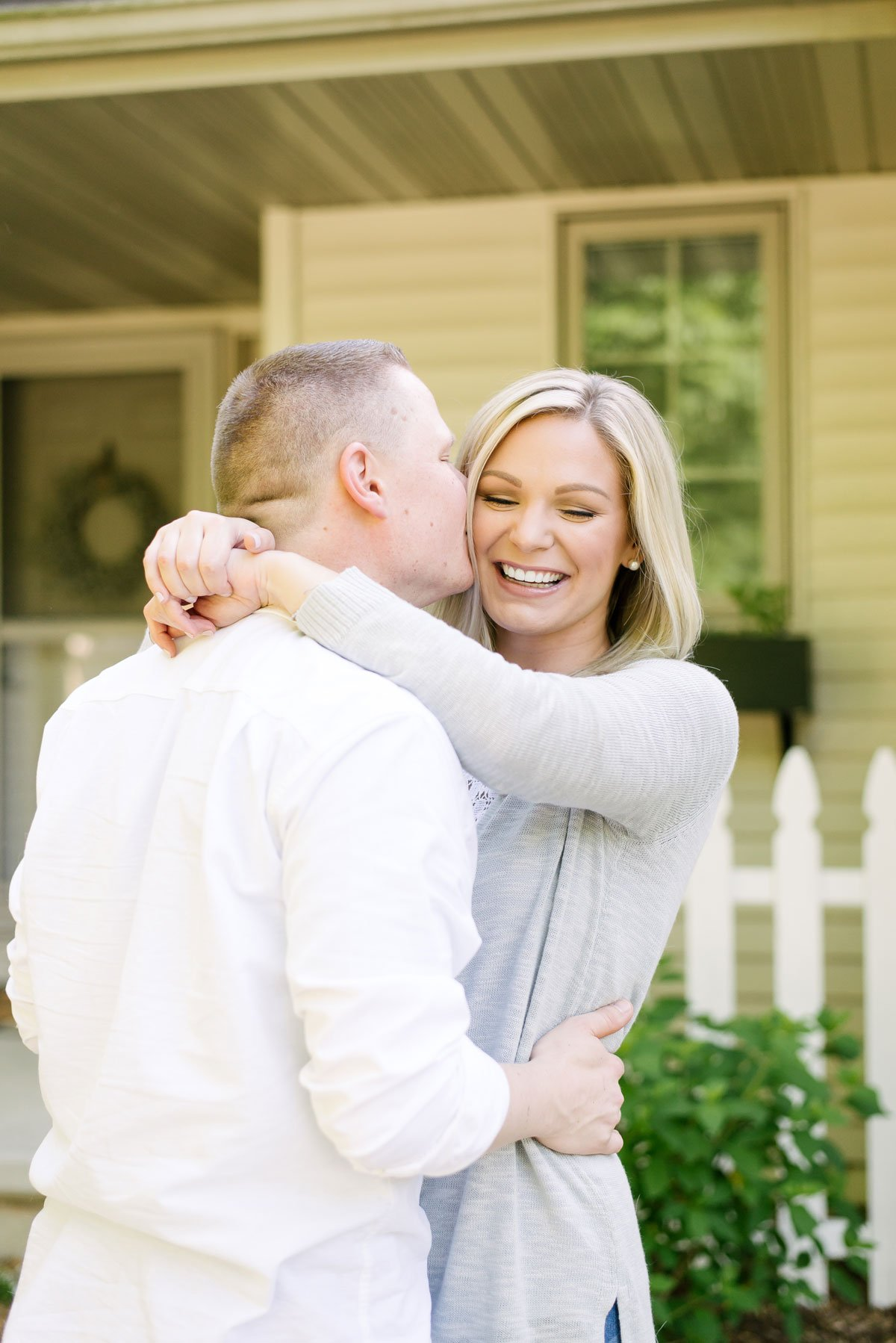 couples lifestyle session at home Fond du Lac, Wis.