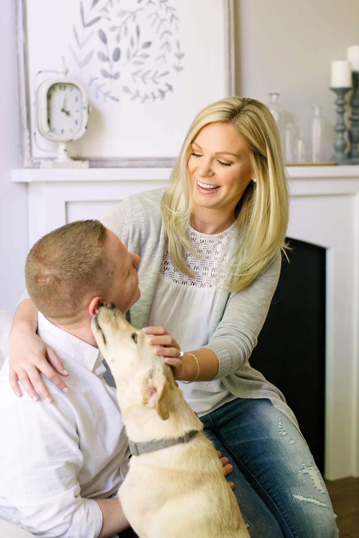 Alex Good Photography_Milwaukee_couples lifestyle session with dog
