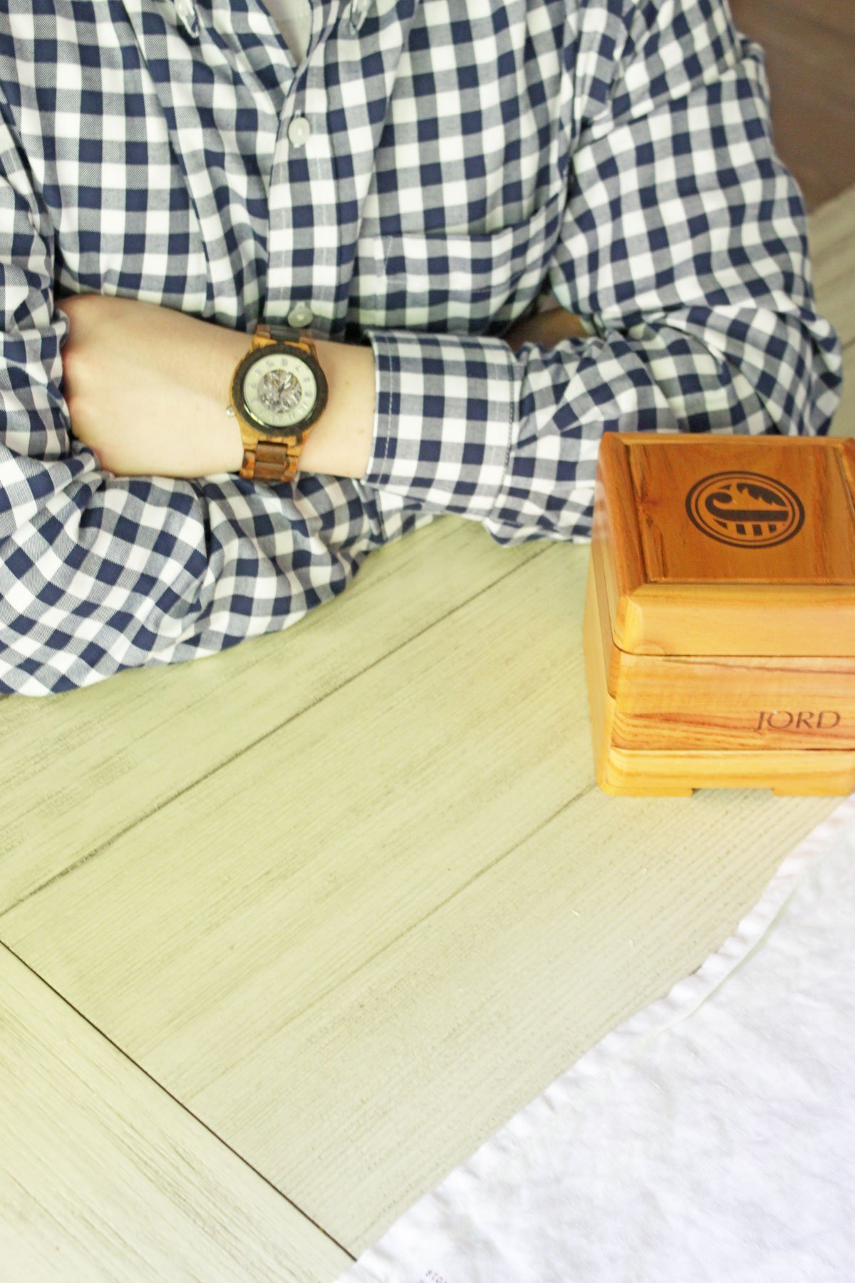 Celebrate Father's Day with JORD - Men's JORD Watch & box