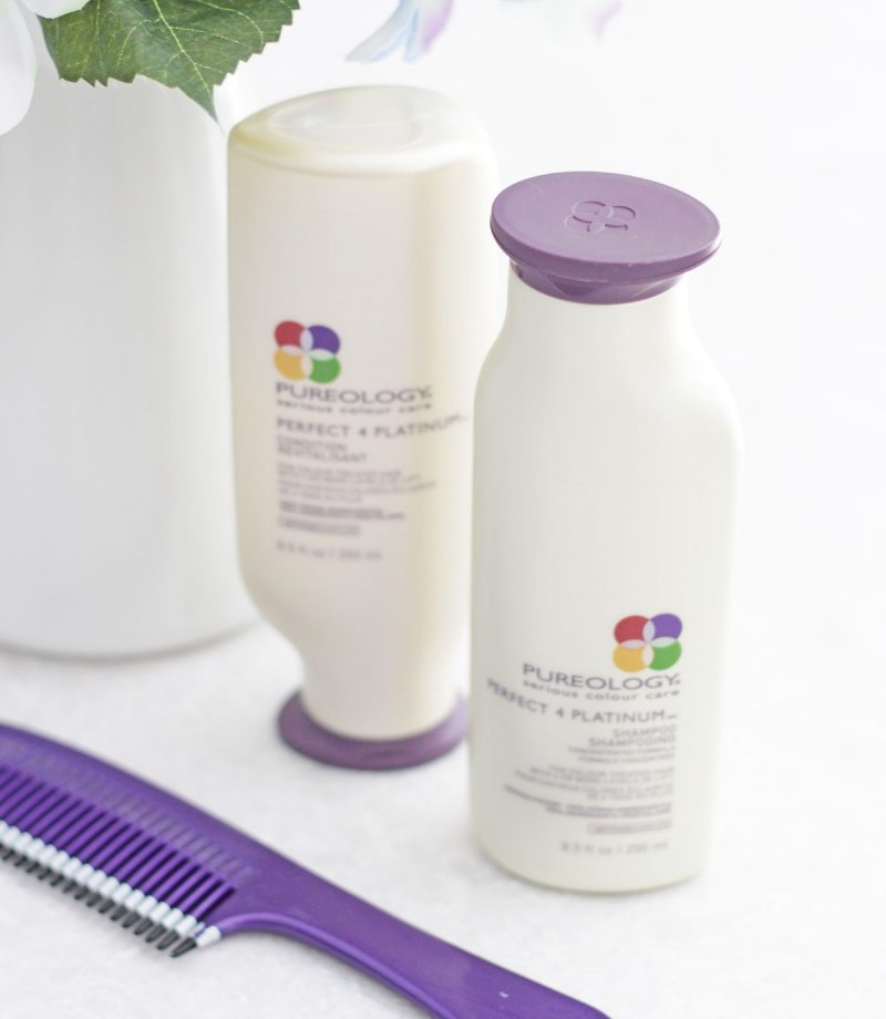 Loving Lately vol. 1 - Pureology Perfect-4-Platinum shampoo and conditioner