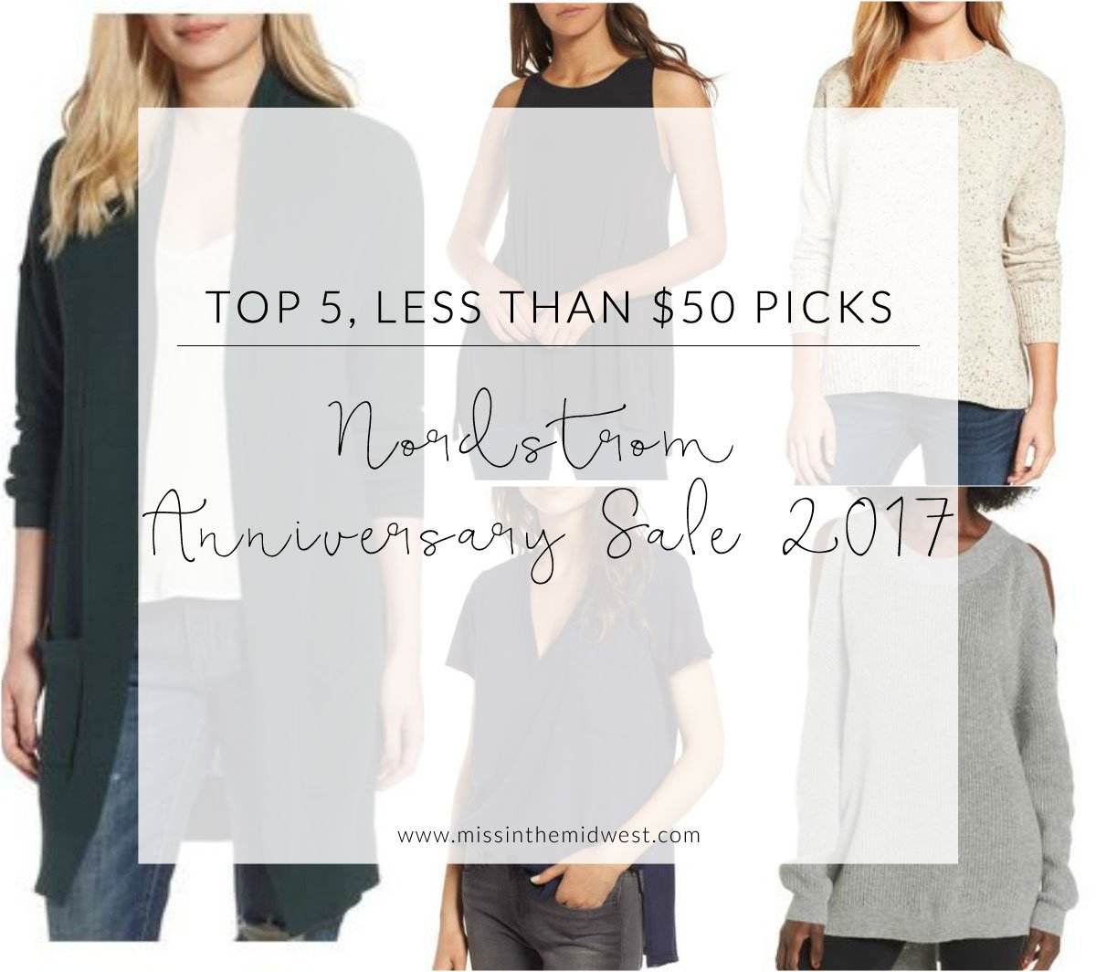 Top 5 Nordstrom Anniversary Sale Picks for Less Than $50