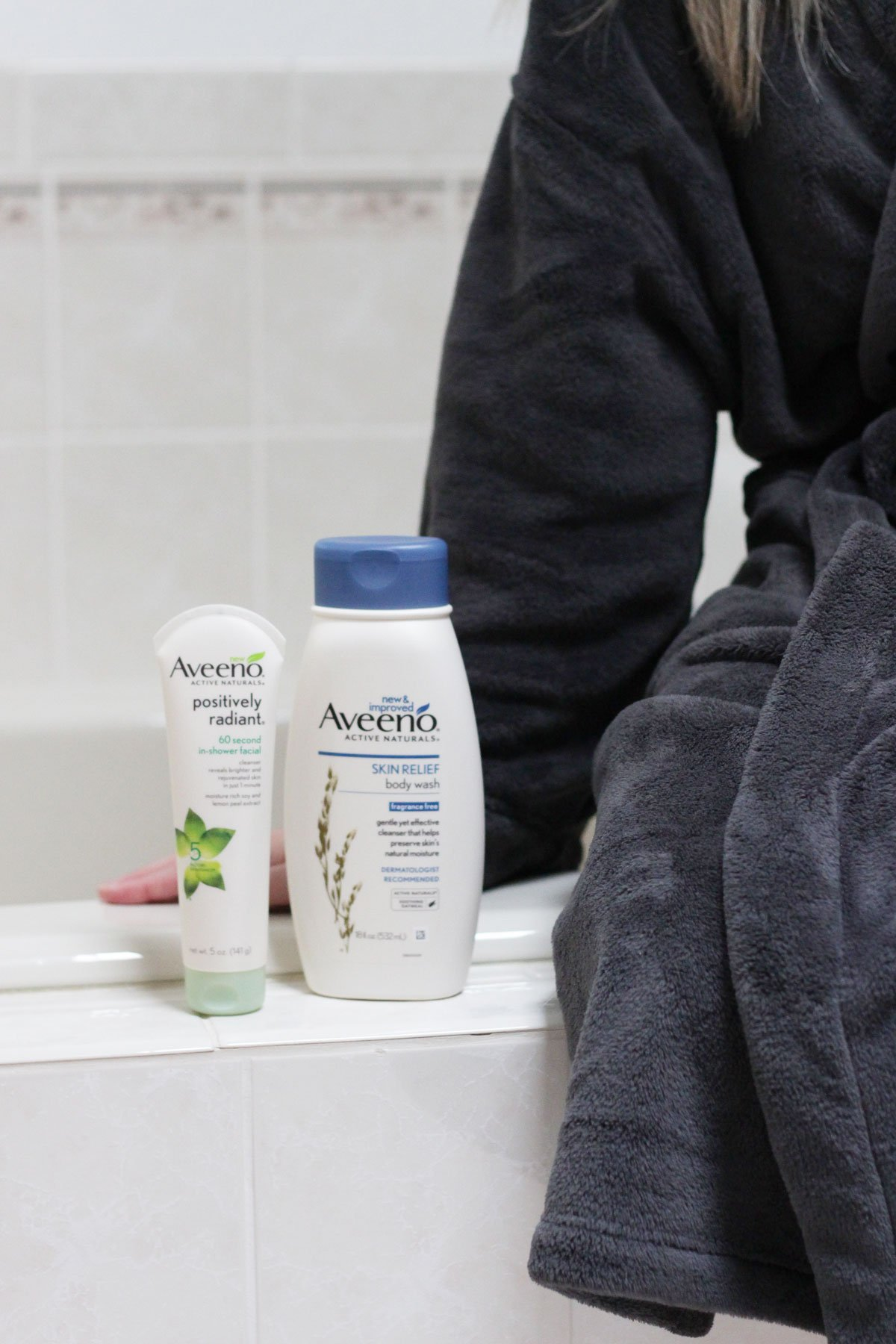 How to Unwind After a Long Day with AVEENO bath products