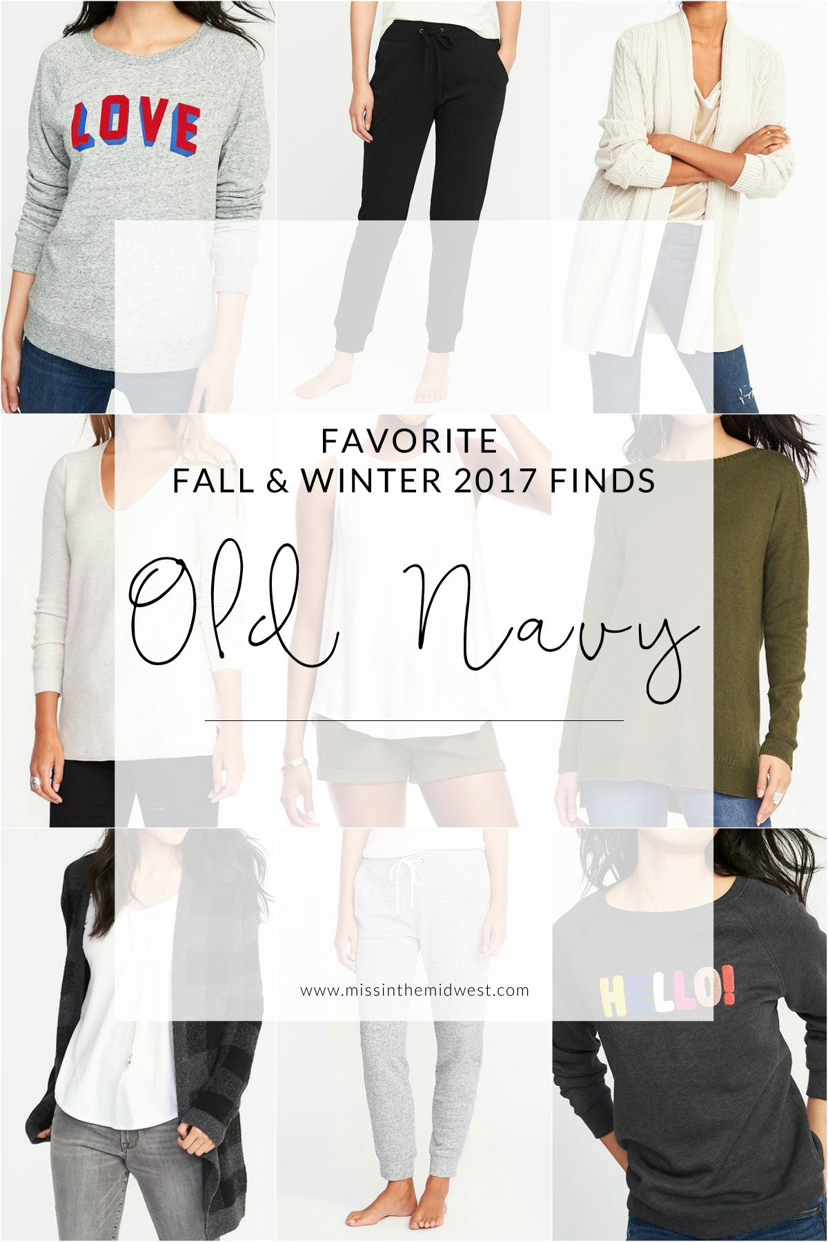 Favorite Fall and Winter Finds from Old Navy