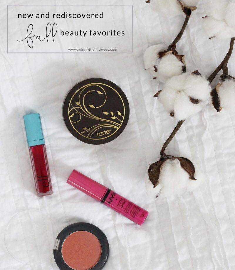 New and Rediscovered Beauty Favorites for Fall