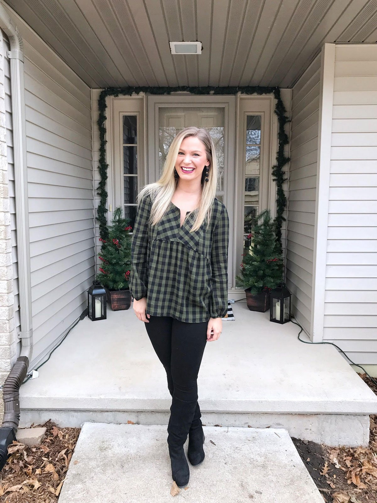 Weekend Kick Off to the Holiday Season - date night outfit