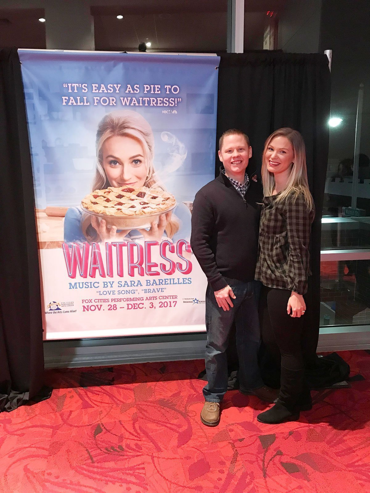 Waitress the Musical at the Fox Cities PAC