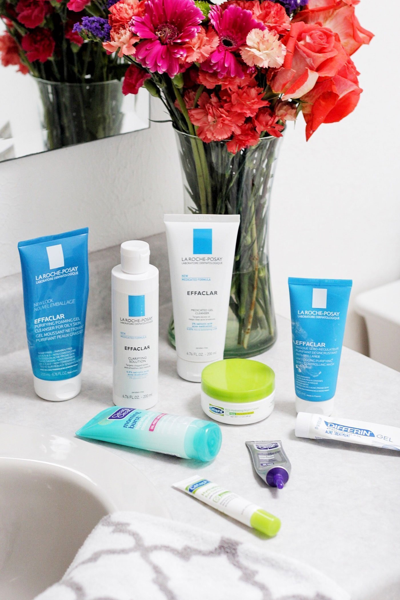 A Complete Skin Care Routine for Mild Adult Acne