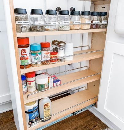 Quick, Easy Way to Update and Organize Your Spice Cabinet