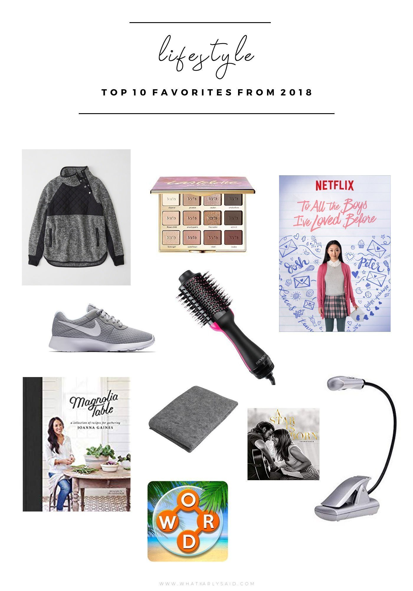 Top 10 Lifestyle Favorites From 2018