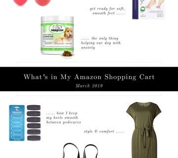 6 Random Things in My Amazon Cart