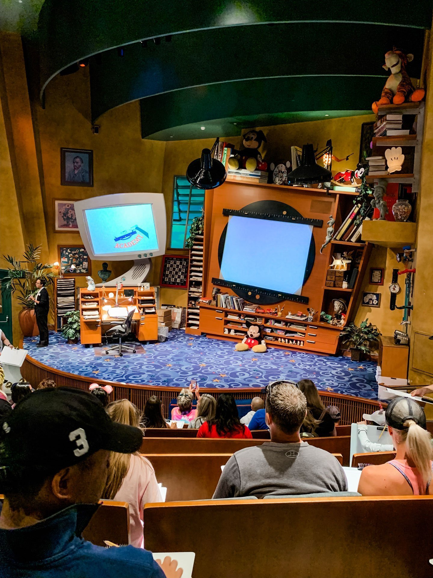 Inside the Animation Academy at Disney California Adventure Park