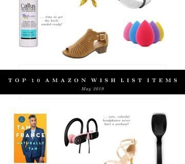 10 Items on My Amazon Wish List