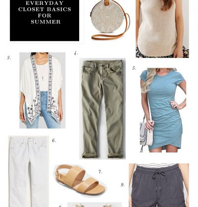 Elevated Everyday Closet Basics for Summer