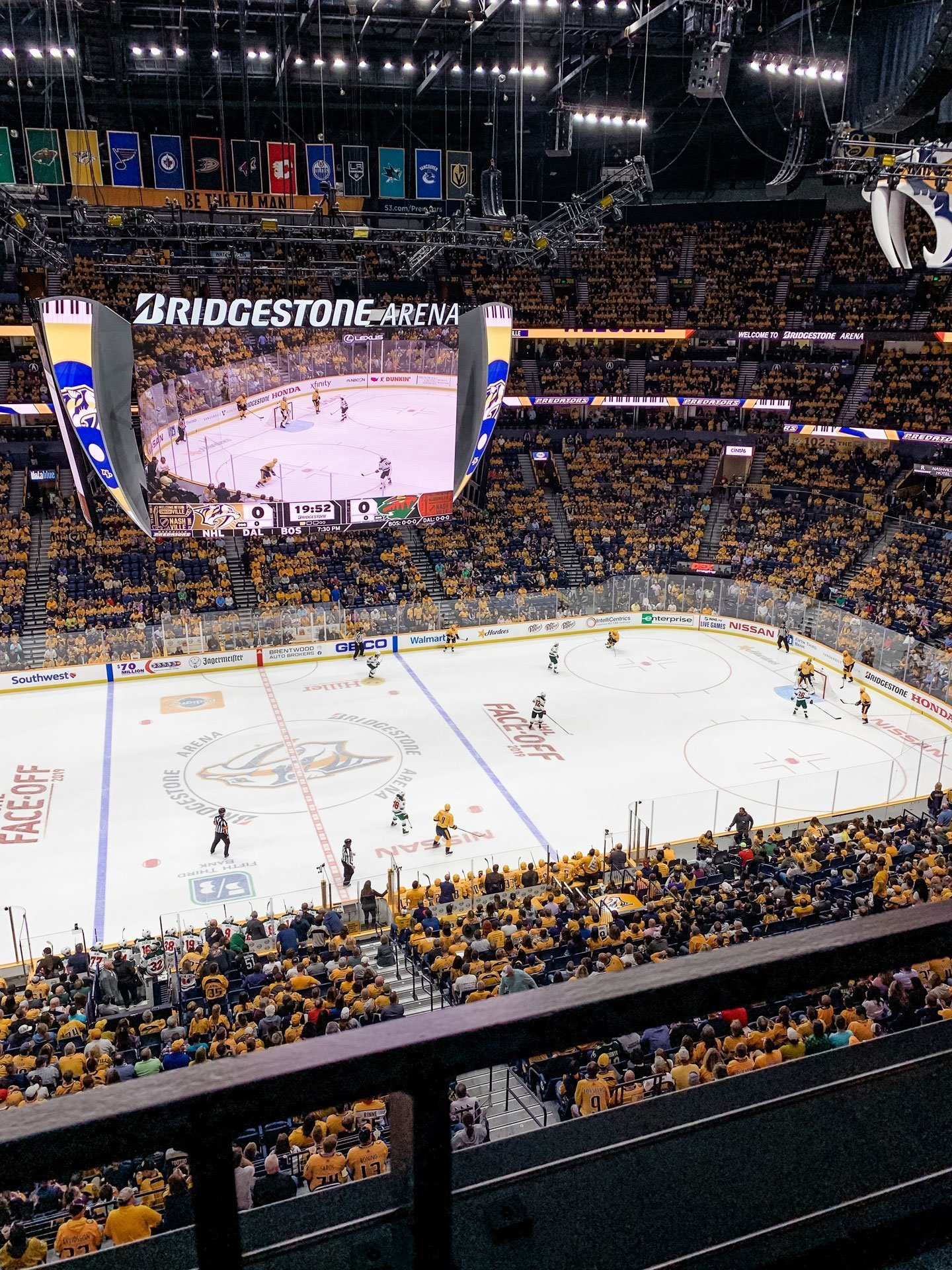 Nashville Predators home opener 2019
