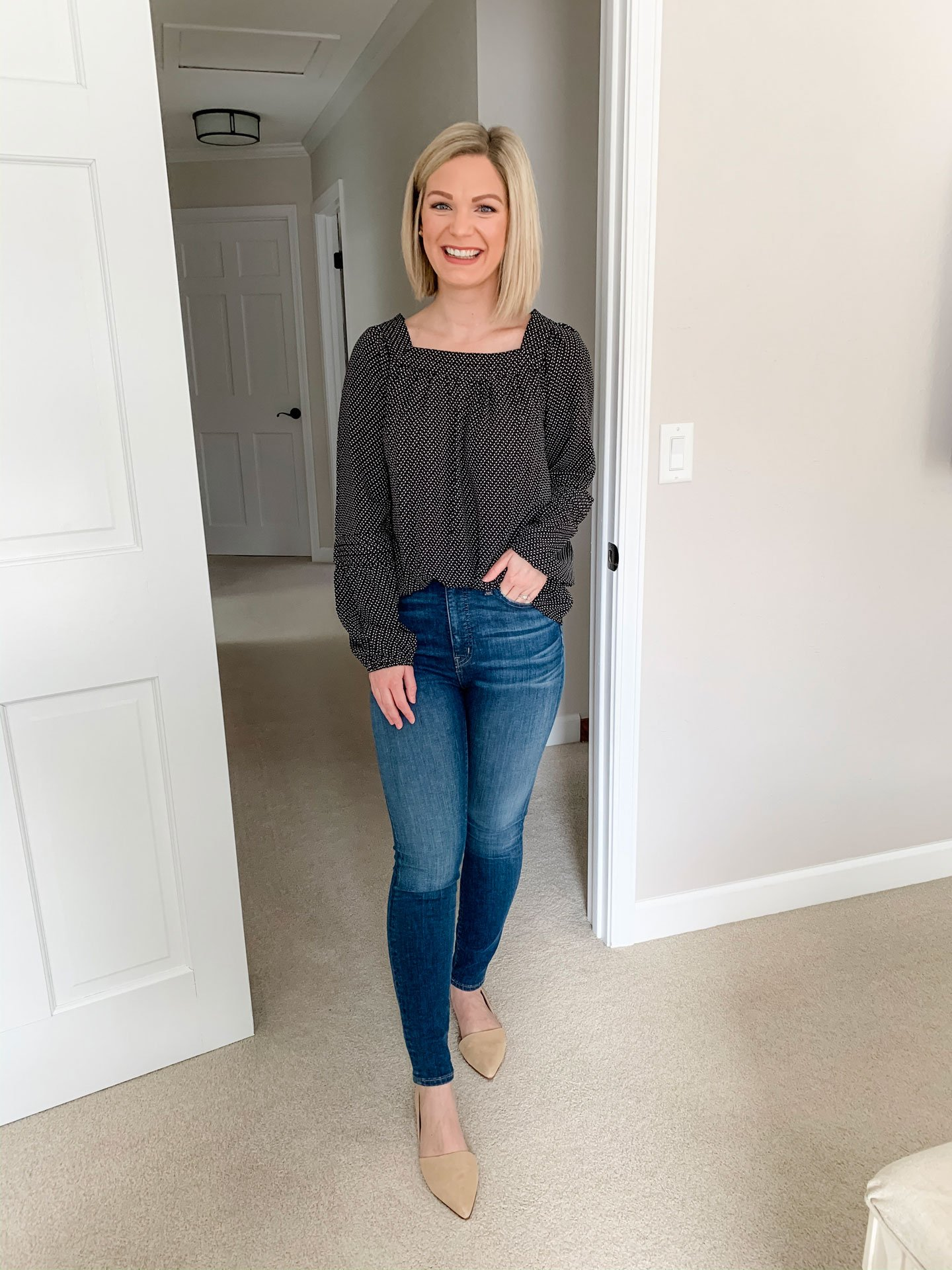 Madewell Curvy High-Rise Skinny Jeans review