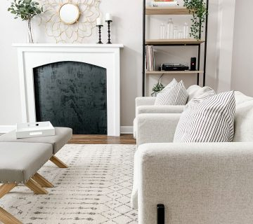 front living room refresh reveal
