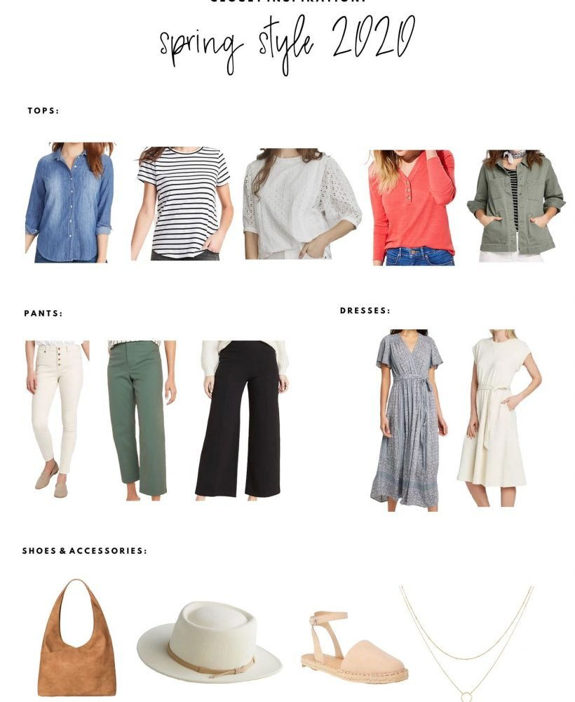 spring style inspiration board