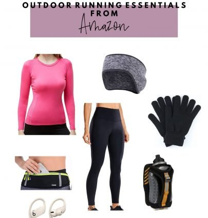 cooler weather outdoor running essentials from amazon