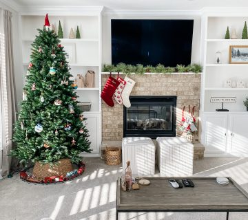 christmas 2020 decor family room