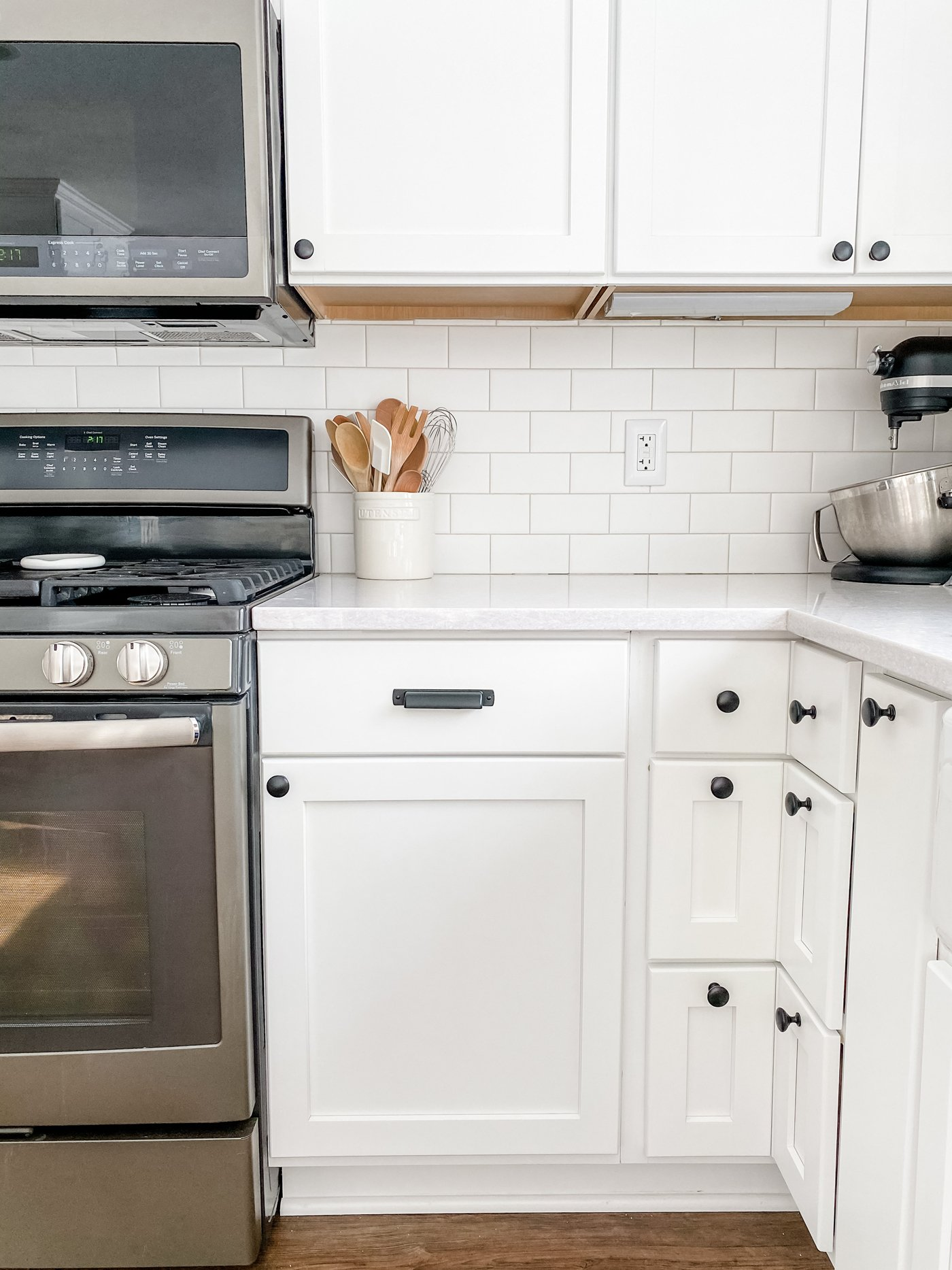 the easiest way to update your kitchen